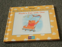 Pooh's Fun With One - My First Winnie the Pooh hardcover book