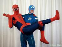 SUPERHERO PARTIES- Invite a REAL SUPERHERO