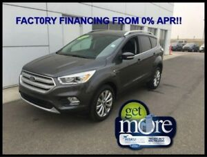 2018 Ford Escape Titanium  FACTORY FINANCING FROM 0%!!