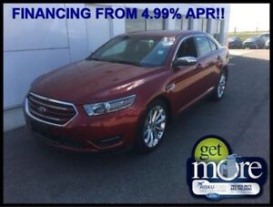 2017 Ford Taurus Limited  FINANCE FROM 4.99% APR!!