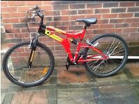 Universal team bike . Mens bike . Boys bike . Mountain bike . 26 inch wheel . Bike