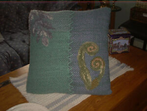 Original Hand Woven & hooked Pillow