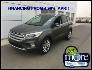 2018 Ford Escape Titanium  FINANCING FROM 4.99% APR!! OAC.