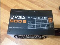 EVGA 500B 500W 80PLUS BRONZE ATX POWER SUPPLY