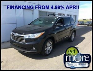 2016 Toyota Highlander XLE  FINANCING FROM 4.99% APR!! OAC.