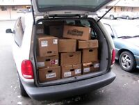 Delivery Cargo Van With Driver for Hire