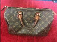 Authentic Vintage Louis vuitton speedy neverfull bag