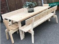IKEA Industriell Dining Table 200cm x 80cm, New. (Table only)