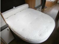 Duvalay Luxury Caravan Mattress £100.00 FREE DELIVERY Memory Foam PLUS Bolster