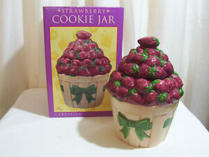 New, Strawberry cookie jar. Cornwall Ontario image 1