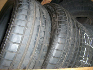 2 tires Continental Extreme Contact 205/55 ZR 17 for sale used.