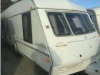 Ace dales 600ct 2000 5/6 berth touring caravan