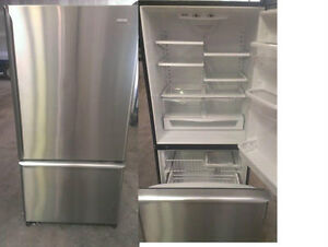 Refrigerators Stainless Steel Durham Appliances Ltd, since: 1971 Kawartha Lakes Peterborough Area image 3