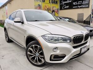 2015 BMW X6 ONLY 56K! Sunroof Leather Navigation One Owner