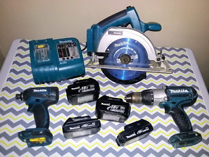 18v Makita Power Tools