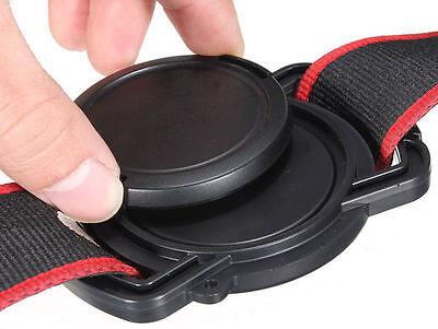 Camera Lens Cap keeper 52mm 58mm 67mm Universal Camera Lens Cap Buckle - UK