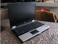 HP EliteBook Quad core i7 2.93GHz, 8GB ram, 160GB SSD, 12.5 inch screen, Ultra portable, Dvdrw win7