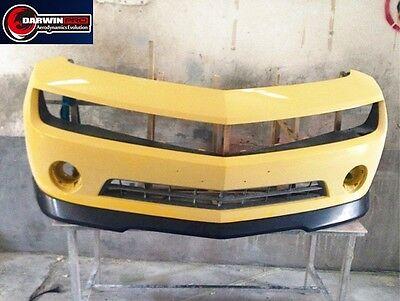 Gmx Front Lip Spoiler - 2010-2013 Chevrolet Camaro GMX Style Carbon Fiber Front Lip Spoiler For V6 ONLY