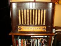 radio avec table tournante