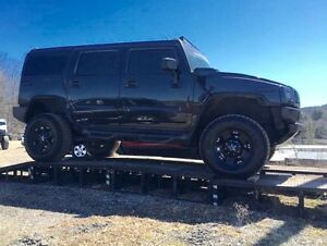 2003 Hummer H2 Blacked Out