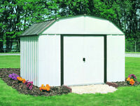 Backyard & Utility Shed Assembly and Construction