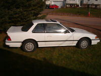 Antique 1986 Honda Prelude Special Edition Coupe