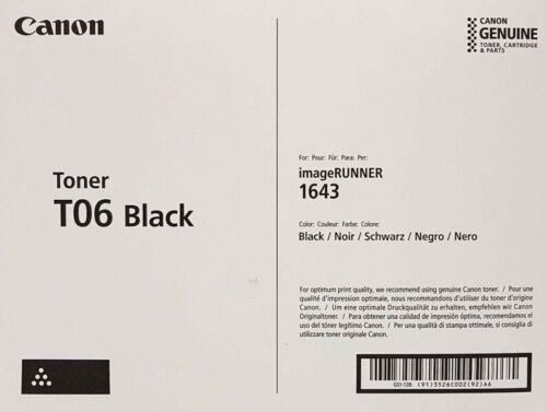 Genuine Canon 3526C001AA (T06) Black Toner Cartridge