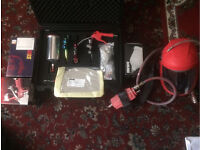 Spray guns sata, devilbiss and extra's for sale