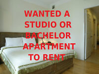 Looking To Rent A Studio Or Bachelor Apartment