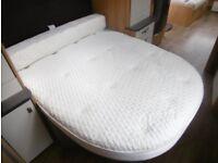 Duvalay Luxury Caravan Mattress £60.00 FREE DELIVERY Memory Foam PLUS Bolster