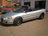REDUCED 2005 Chrysler Sebring Convertible