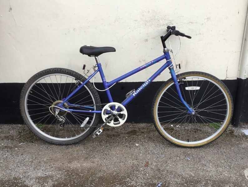 "LADIES RALEIGH MOUNTAIN BIKE 17"" FRAME £45"
