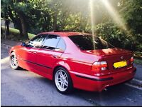Bmw e39 525d Msport in imola red
