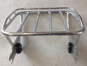 Quick release luggage rack fits 2000-2008 Harley Davidson tour