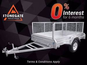 Quality 7x5 Trailer with 600mm High Cage | Hot-dip Galvanised Belmont Brisbane South East Preview