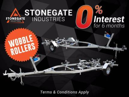 4m / 5.5m Boat Trailer From $1,650 | Wobble Rollers