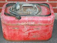 Johnson Evinrude Metal Gas Tank with Fuel Line