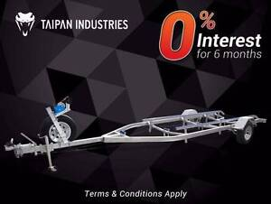 5.5m Boat Trailer Skid Type 15-18.5Ft 6month INTEREST FREE* Gold Coast Region Preview
