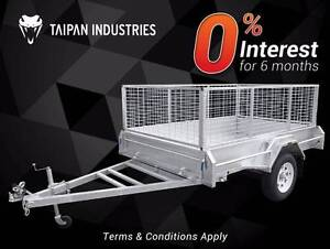 Top Quality 6x4 7x4 7x5 8x5 8x6 Tipper Box Trailer HotDippedGalv Coopers Plains Brisbane South West Preview