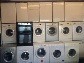 Washing machines fridge freezers cookers tumble dryers 6 month warranty free delivery