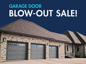 Garage Door Blowout Sale—Up to 50% Off!