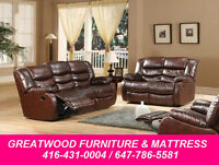 RECLINER SET WITH ROCKING CHAIR..$1099