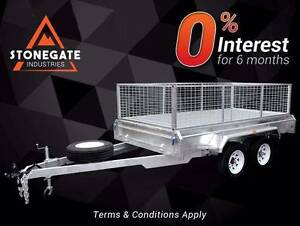 Best Deal 8x5 Tandem Trailer with 600mm High Cage | 1990 KG ATM Brisbane South East Preview