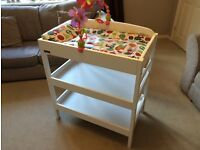 East Coast Clara Dresser / Changing Table (White) & Toy included