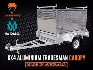 6x4 | 7x4 | 7x5 | 8x5 Tradesman Aluminium Canopy Box Trailer Brisbane Region Preview