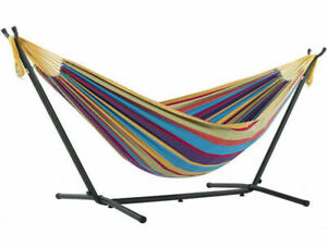 Toytexx High Quality Hammock with Space Saving Steel Stand