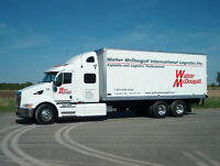 DZ and G Licenced Drivers - Long-haul, Canada and the U.S.