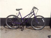 "LADIES TOWNSEND MOUNTAIN BIKE 19"" FRAME £45"