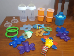 baby bottle and teethers Brassall Ipswich City Preview