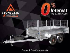 Tandem Trailer 10x5 450mm High Sides with 600mm Cage | 1990KG ATM Rocklea Brisbane South West Preview